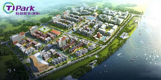青岛锦汇蓝波湾实业有限公司建设的蓝湾创业园,青岛赛瑞达电子科技