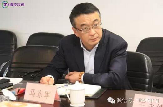 青岛高新区管委会王永健副主任一行访问清控科创
